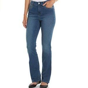 Gloria Vanderbilt Jordyn Curvey Barely Boot Jeans